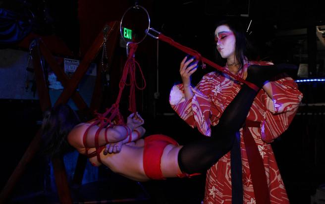 With Winter Nawa at Bondage a Go Go, San Francisco (12/16/15)