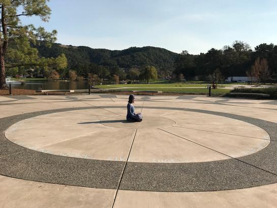 At Marin Civic Center, San Rafael, solo (12/7/17)