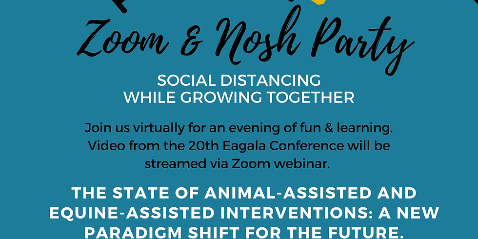 Zoom & Nosh Party - The State of Animal-Assisted and Equine-Assisted Interventions (1)