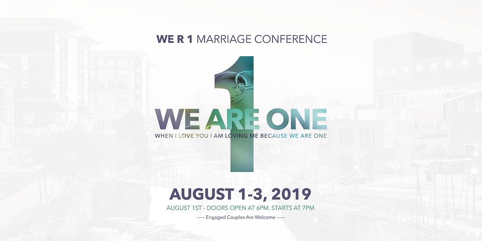 WE R 1 Marriage Conference