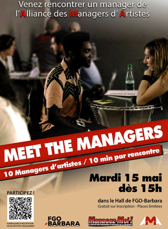 """Meet The Managers"" 15 mai 2018"