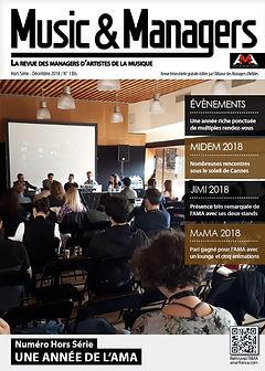 n°01 Hors Série Music & Managers magazine AMA France