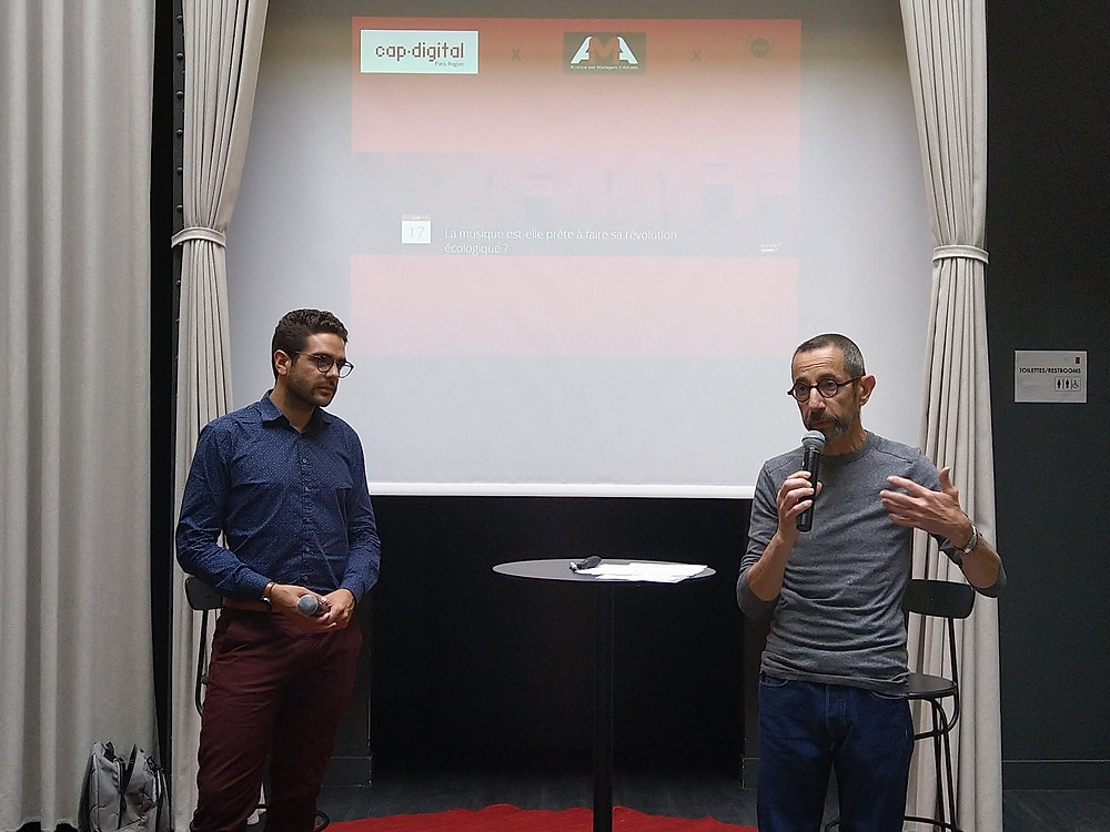 Jean-Baptiste Bini (Cap Digital) et Didier Zerath (AMA)