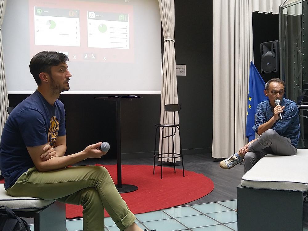 Fabrice Jallet (Irma) et Lionel Chassaing (AMA)
