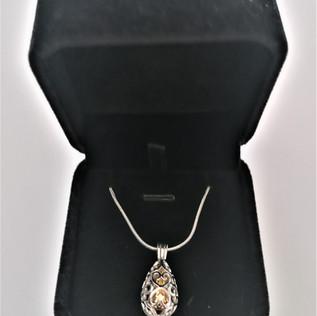 Jewellery Ashes Pendant - Chelsea Design