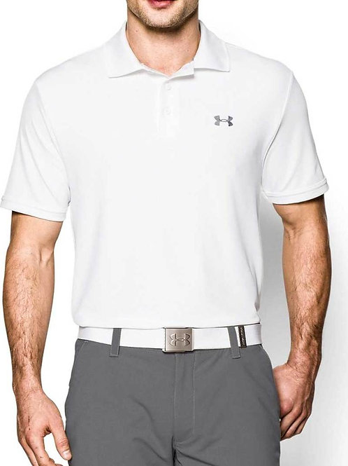 Playera Polo Under Armour Performance White