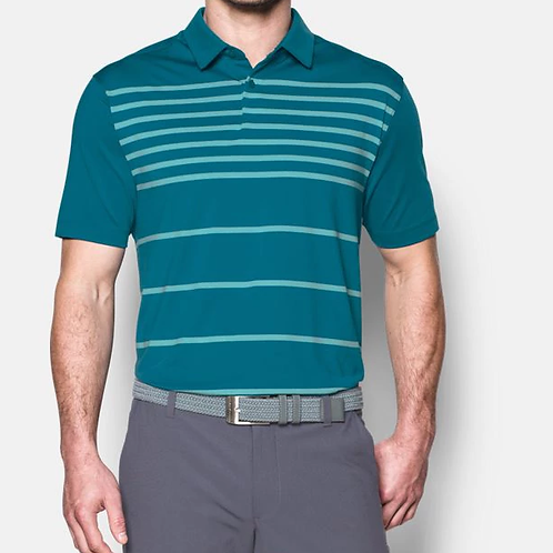 Playera Polo Under Armour Coolswitch Brassie Stripe Caballero