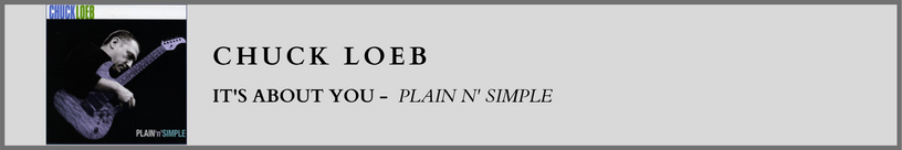 Chuck Loeb - Plain and Simple.png