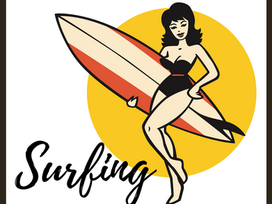 Now Available : Surfing With A Vintage Lady