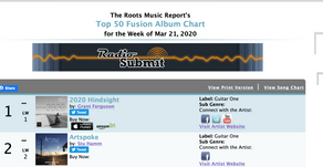 Grant Ferguson and Stu Hamm Share the Top of the Charts!