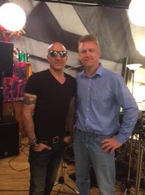 With Kenny Aronoff