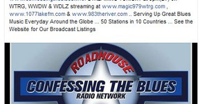 The B. Christopher on Confessing The Blues Radio Network!