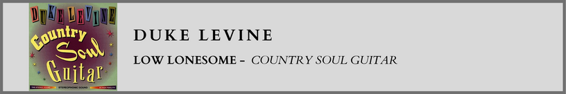 Duke Levine - Low Lonesome
