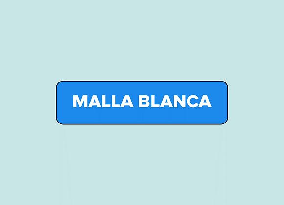 Malla blanca