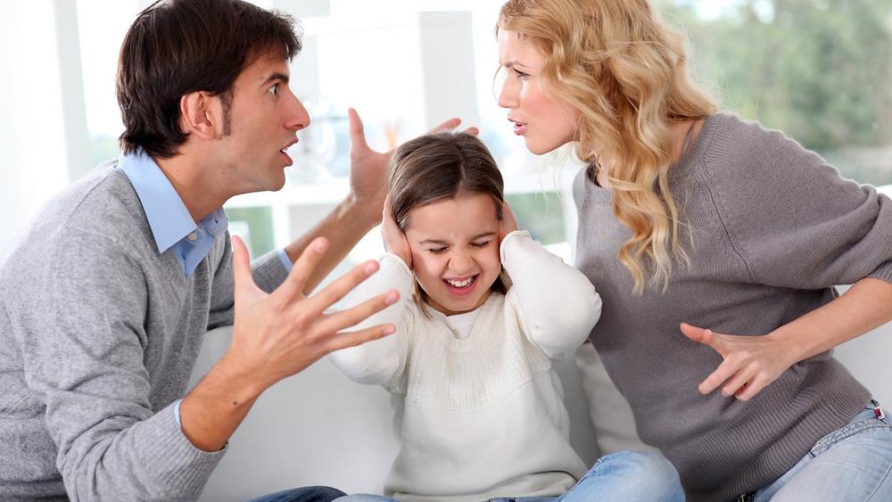 divorzio, figli,problemi,paure,urla,madre,padre