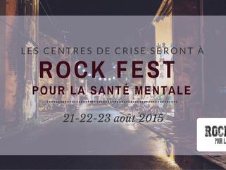 Rock Fest pour la santé mentale, y serez-vous?