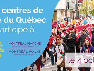 Montréal marche pour la santé mentale