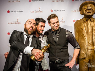 Jonathan Roberge gagne au 17e Gala Les Olivier