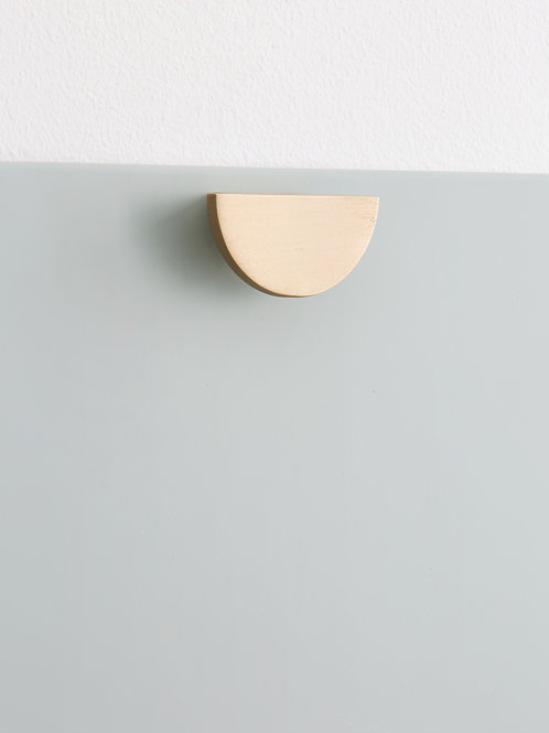 Poignée Mini-Lune laiton