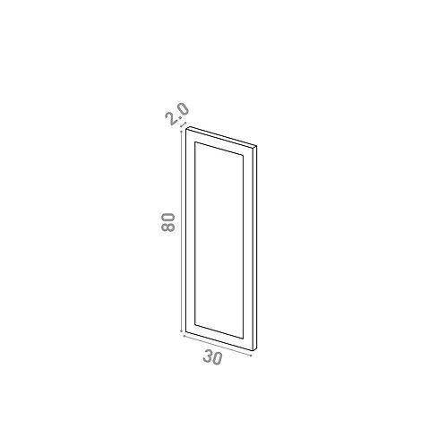 Porte 30X80cm | design cadre | laque mate