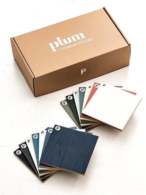 Box complète - Chêne peint - 14 échantillons