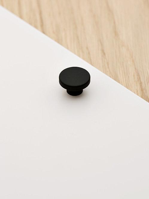 Poignée Mini-Rond noir mat