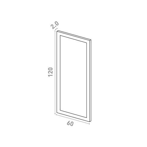Porte 60X120cm | design cadre | laque mate