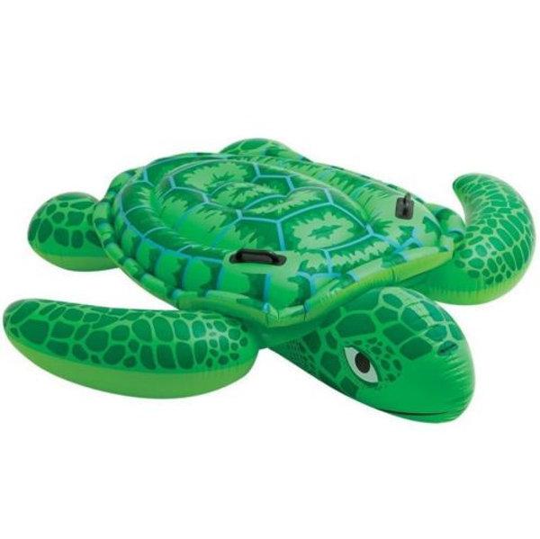 Little Sea Turtle Ride On Inflatable Kids Swimming Pool Float Raft 67x73 |  wagigi