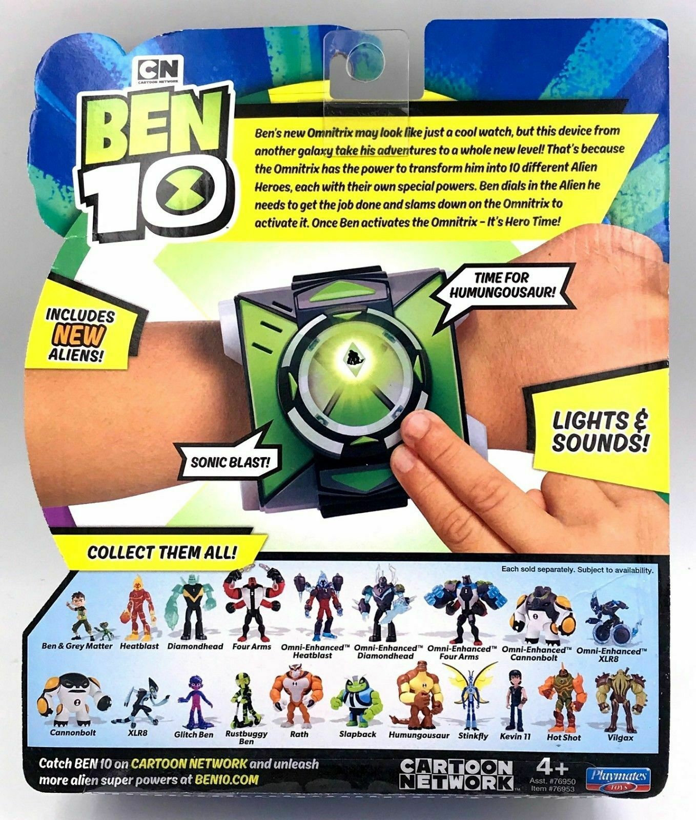 NEW Ben 10 OMNITRIX Watch Season 3 40 Plus Phrases Cartoon Network CN 2019