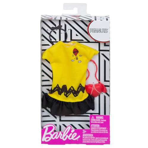 daa483e469 Barbie doll (sold separately) loves to put her own twist on the latest  fashion trends. And she s captured some of her favorite influences in this  cool ...