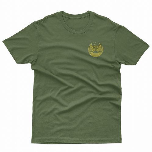 Fox Tee: Military Green