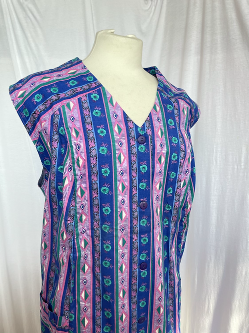 Cotton Dress/Waistcoat Size 18-24
