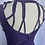 Thumbnail: Purple High Web Neck Dress 10