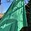 Thumbnail: St Michaels Green Pleat Skirt Size 12