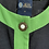 Thumbnail: 1980s Green Edged Navy Jacket Size 14/16