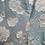 Thumbnail: 1960s Powder Blue Floral Full Length Dress Size 6