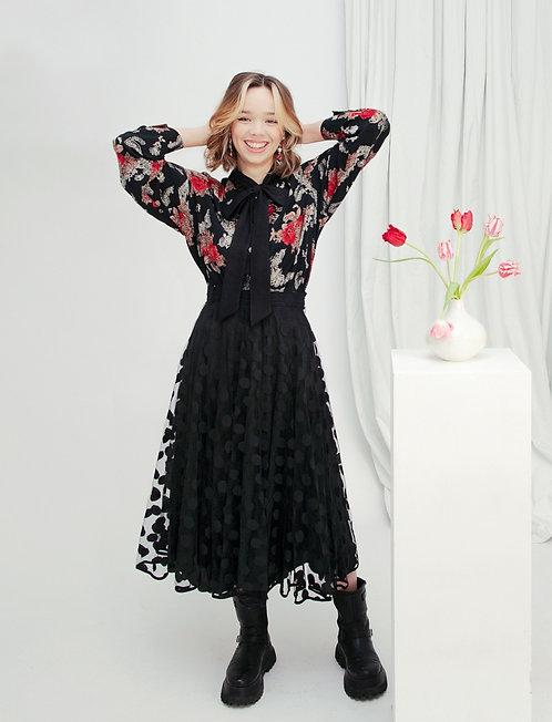 Tulle Overlay Skirt Size 12