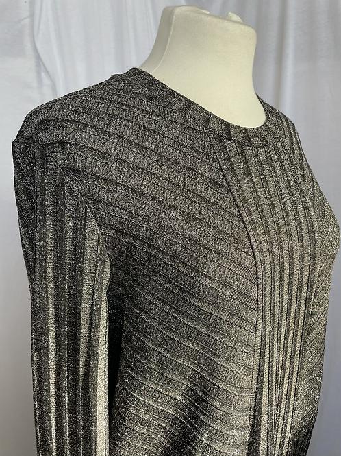 Metallic Stretch Midaxi Dress Size 10-12