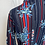 Thumbnail: 1970s Red & Blue Shirt Size 8/10