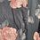 Thumbnail: 1980s Rose Blazer Size 8-12