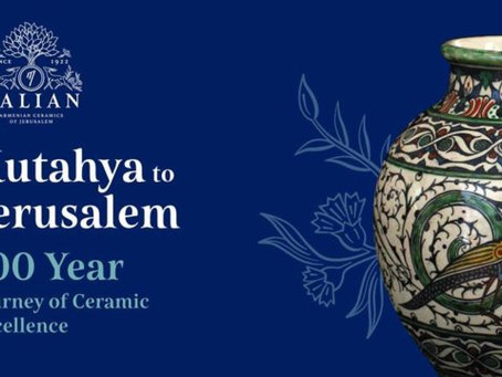 Exhibition: 100 Year Journey of Ceramic Excellence-Balian Family