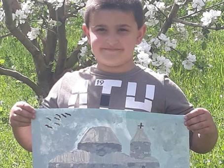 Բերդավան և Թեղենիք համայնքների երեխաները մասնակցեցին հուշարձաններին նվիրված ՅՈՒՆԵՍԿՕ-ի նկարչական մրց