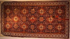 Demonstration of Armenian carpets and ornamented clothes at the Royal Fortress Museum in Warsaw