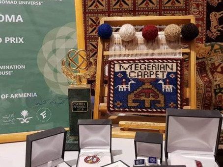 Megerian Carpet Armenia and Teryan Cultural Center represented Armenia and its culture in the King A