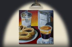 UN CAFé EN CATALOGNE