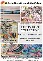 EXPOSITION COLLECTIVE  galerie Grand place 051120.jpg