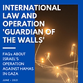 """COVER International Law and Operation """"G"""
