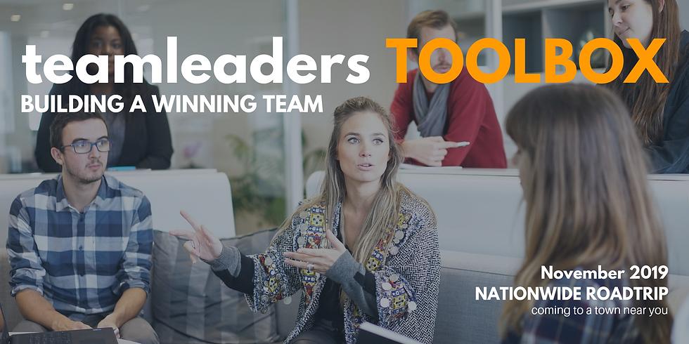 Team Leaders Toolbox: Palmerston North