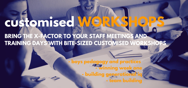 Customised Workshops