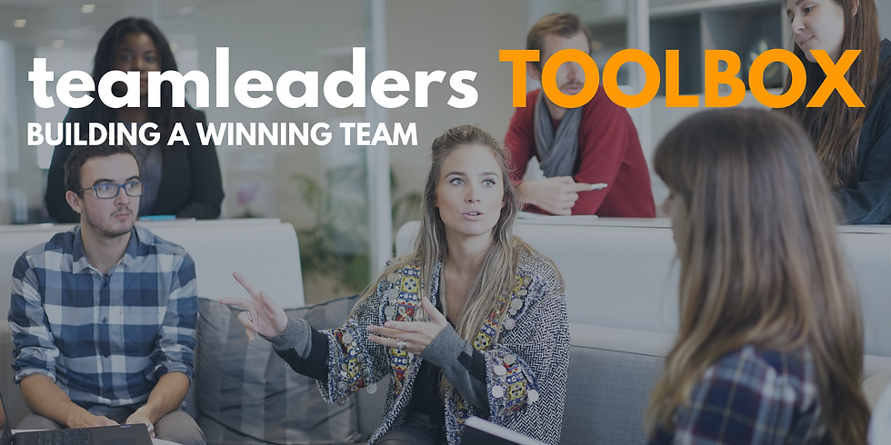 Team Leaders Toolbox: Palmerston North 2020